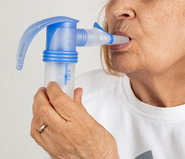 fisioterapia respiratoria en adultos